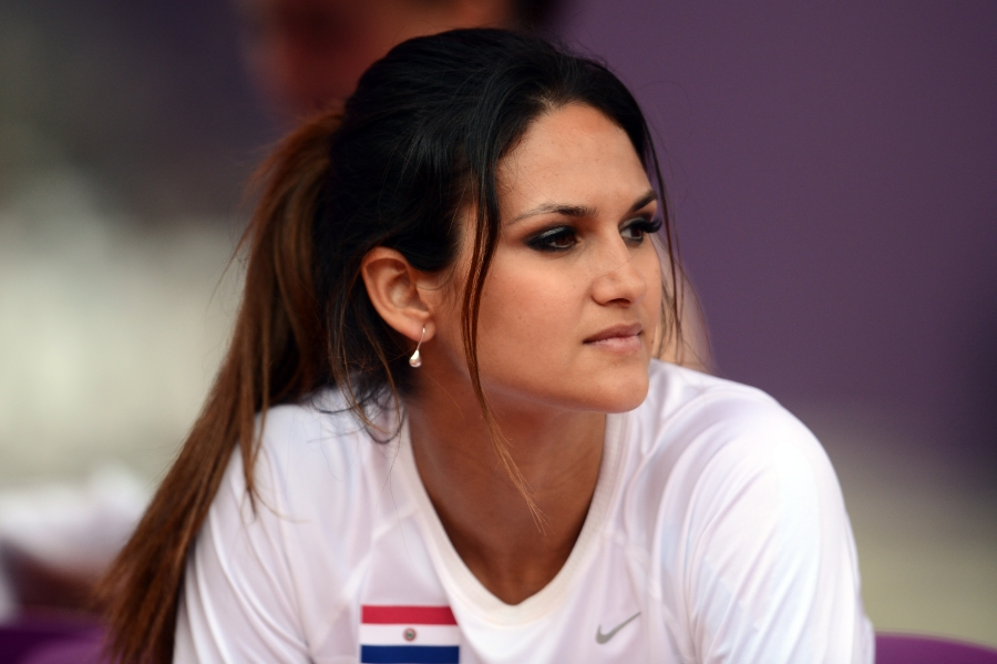 Leryn Franco, Atlet Cantik Dari Paraguay