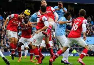 Ini Dia Video Gol: Arsenal 1-1 Manchester City (Premier League)