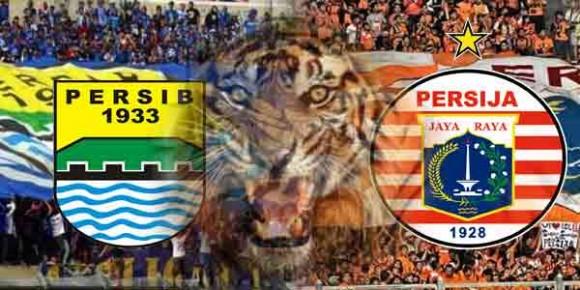 Pertandingan Antara Persib vs Persija Berakhir Imbang