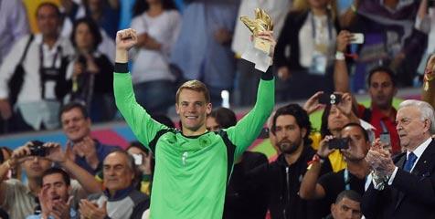 Neuer Peraih Golden Glove Piala Dunia 2014