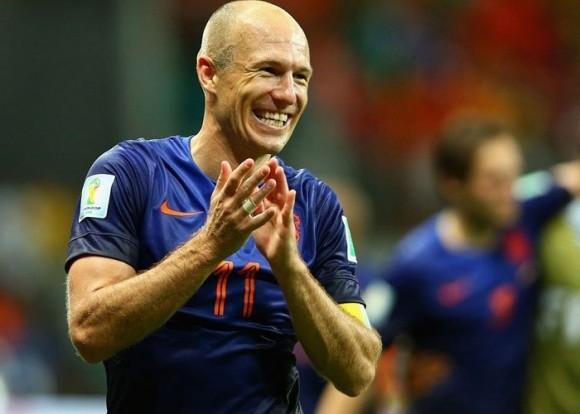 Robben Masuk Daftar Pemain Penerima Bola Emas